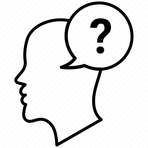 concern, doubt, intterogation question icon, problem icon