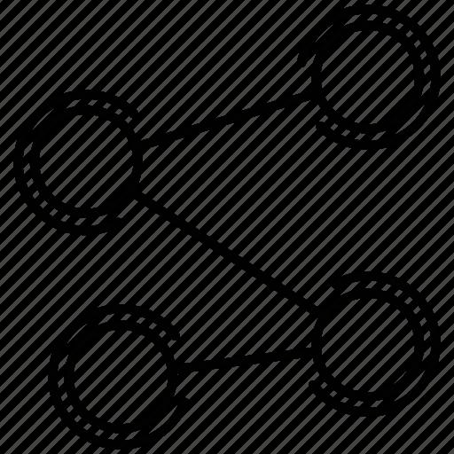chain, company, connectivity, link, organize icon icon