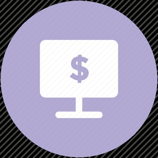 canvas, display, entrepreneurship, presentation, projection, projection screen icon