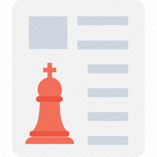 chess, chess king, marketing, planning, strategy icon
