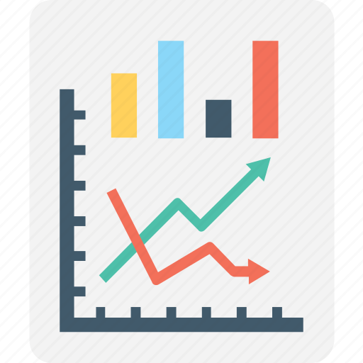 analysis, chart, graph report, report, statistics icon
