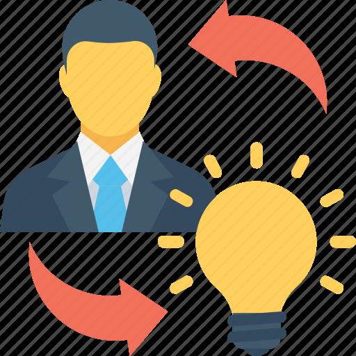 bulb, create idea, idea, idea sharing, innovation icon