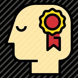 award, bonus, business, connection, marketing icon