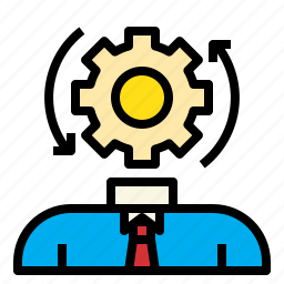 brain, business, connection, marketing, process icon