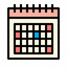appointment, business, calendar, connection, marketing icon