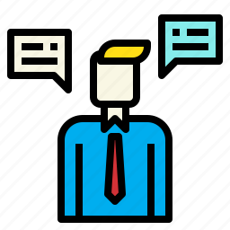 business, connection, marketing, operator, service icon