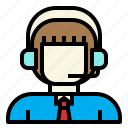 business, chat, connection, marketing, operator icon