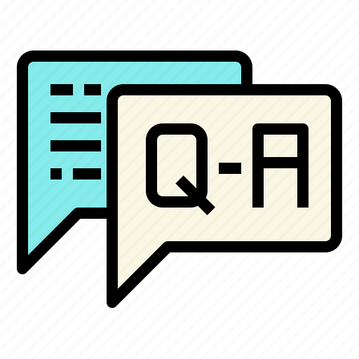 and, answer, business, connection, marketing, question icon