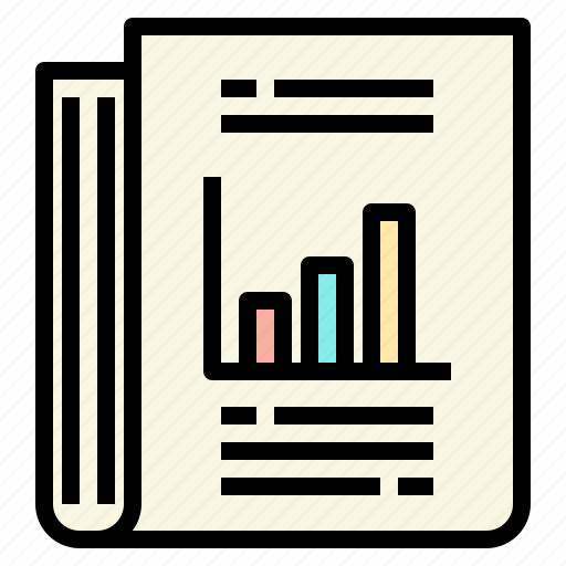business, connection, marketing, report icon