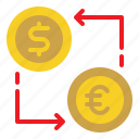 cash, currency, exchange, money, rate icon