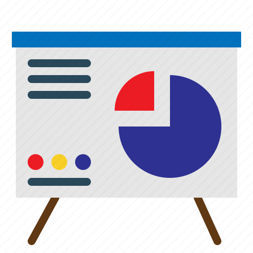 charts, meeting, pie, presentation, reports, sales icon