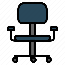 chair, office icon