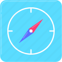 app, compass, gps, navigation, travel icon