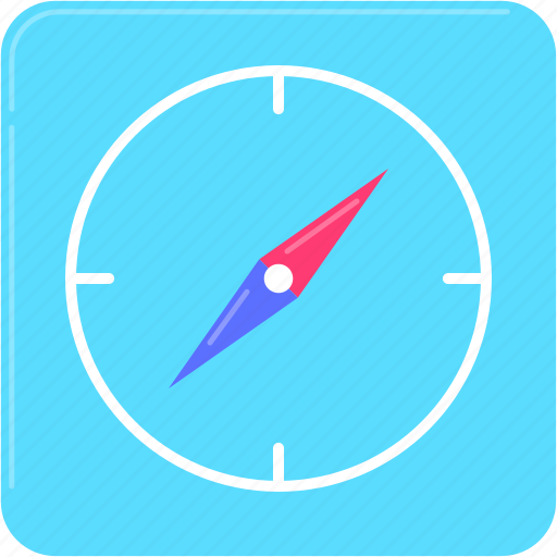 App, compass, gps, navigation, travel icon - Download on Iconfinder