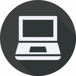 business, finance, financial, laptop, profit, statistics icon