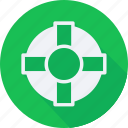 business, finance, financial, lifesaver, profit, statistics icon