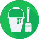 brush, business, finance, financial, paint, profit, statistics icon