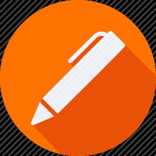 business, finance, financial, pen, profit, statistics icon