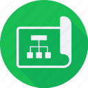 business, finance, financial, planning, profit, statistics, strategy icon
