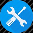 business, finance, financial, profit, repair, statistics, tools icon
