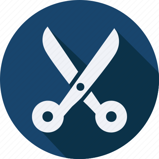 business, finance, profit, scissors icon