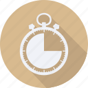 business, finance, financial, profit, statistics, stopwatch icon