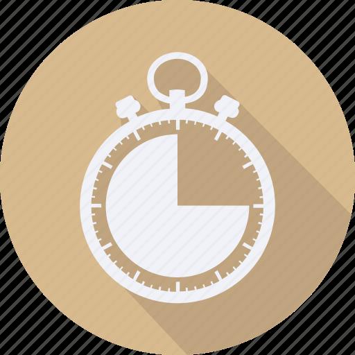 business, finance, financial, profit, statistics, stopwatch icon
