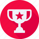 business, finance, financial, profit, statistics, trophy icon