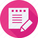 business, finance, financial, notes, profit, statistics icon
