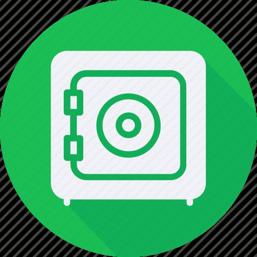 business, finance, financial, profit, safebox, statistics icon