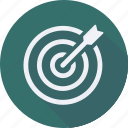 business, finance, financial, profit, statistics, target icon