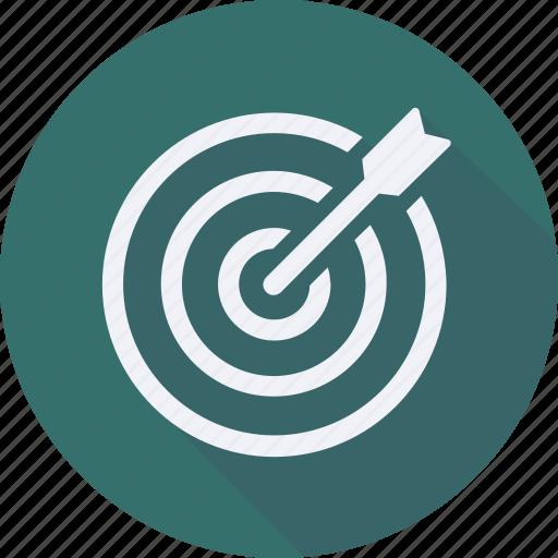 business, finance, financial, profit, statistics, target icon