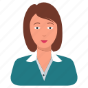 business lady, businesswomen, customer care, lady, service, user icon