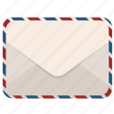 email, envelope, latter, mail, message icon