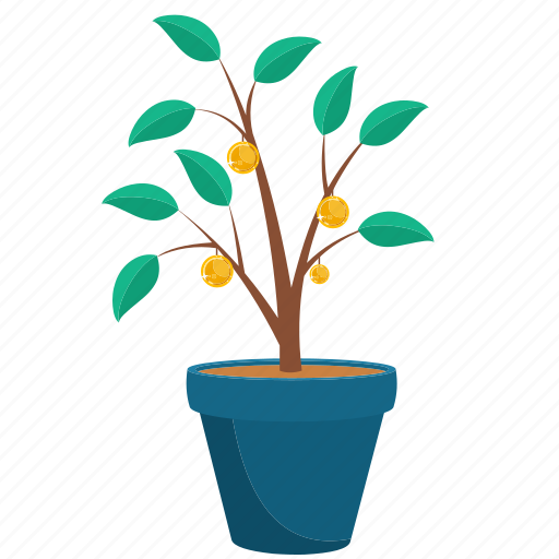 Growing, growth, money, mutual funds, plant icon - Download on Iconfinder