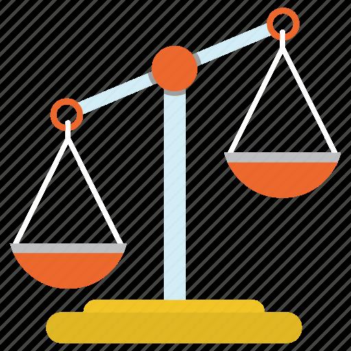 balance, judge, justice, law, scales icon
