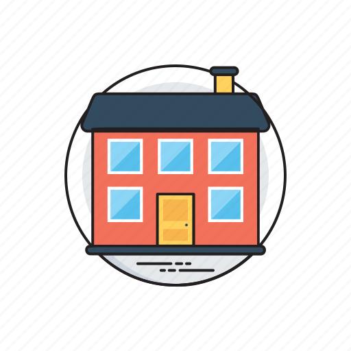 architectural design, business real estate, contemporary architecture, office building icon