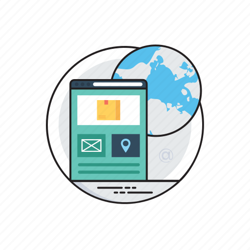 ecommerce, internet marketing, online business, online shopping, web earning icon