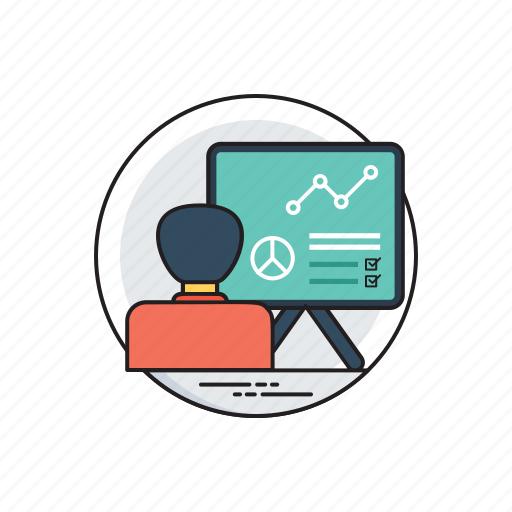 business development, competitive strategy, growth analysis, infographic, progress analyzation icon