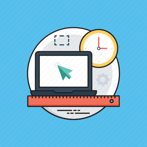 business miscellany, office space, work desk, work organization, workspace icon