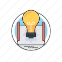 business idea, business tactics, investment plan, marketing strategy, trading policy icon