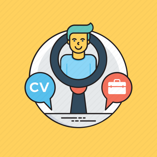 career development, career hunt, career opportunities, job search, personal profile icon
