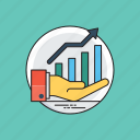 business development, business growth, business intelligence, company progress, infographic icon