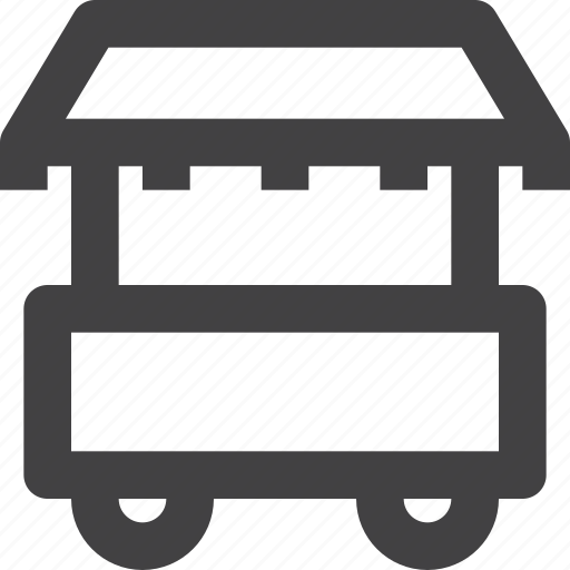 food, hut, retail, street, truck, vendor icon
