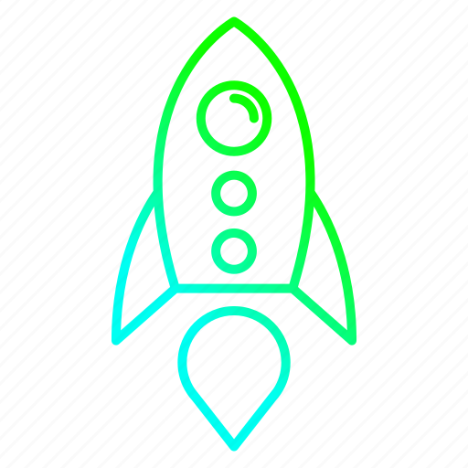 business, launch, missile, rocket, startup icon