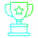 achievement, award, business, cup, trophy, winner icon