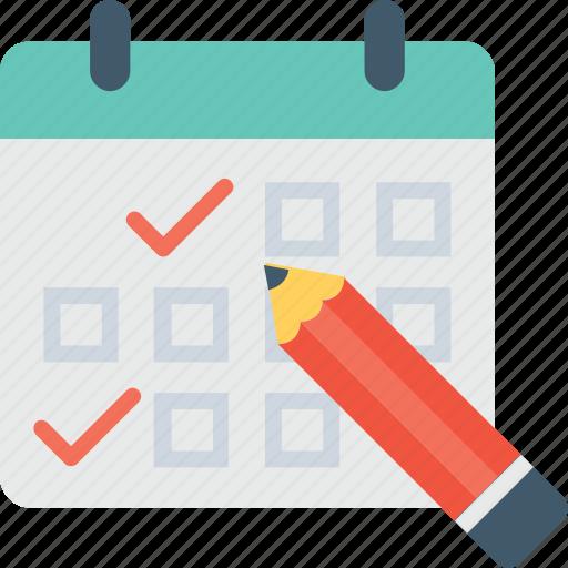 agenda, calendar, schedule, time frame, timetable icon