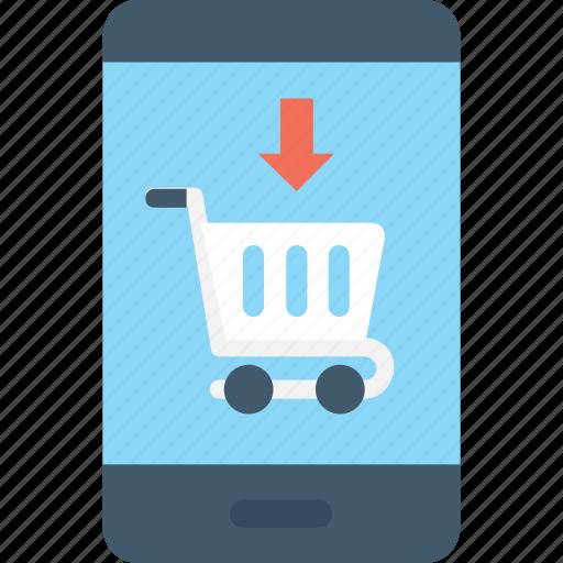 buy, ecommerce, mobile, mobile shopping, shopping app icon