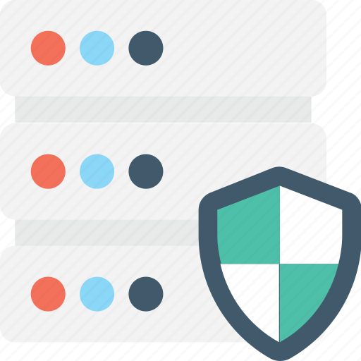 cyber security, data protection, database, server security, shield icon