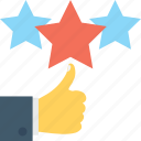 feedback, ranking, rating, review, star icon